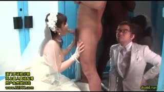 ウェディングドレス姿のままハメられる新婚さんいらっしゃーい